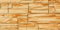 Фасадные панели с фактурой под скалистый камень