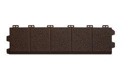 доборная доска к откосу «Альта-Профиль», коричневая