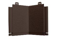 добор к угловому элементу откоса «Альта-Профиль», коричневый