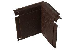 угол откоса «Альта-Профиль», коричневый