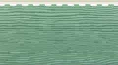 сайдинг вспененный «Альта Борд», зелёный