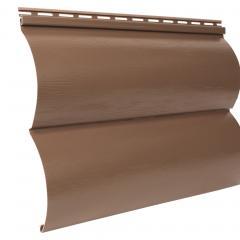 сайдинг акриловый двухпереломный «Blockhouse», красно-коричневый