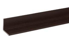 Угловой профиль для террасной доски, тёмно-коричневый