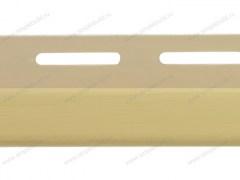 J-trim для фасадных панелей, золотистый
