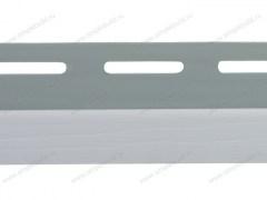 J-trim для фасадных панелей, светло-серый