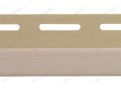 J-trim для фасадных панелей, персиковый