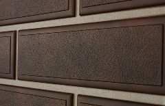 Фасадная панель «Альта-Профиль», венецианский камень коричневый