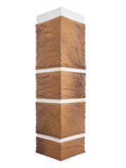 Угол фасадной панели «Альта-Профиль», камень пражский 02
