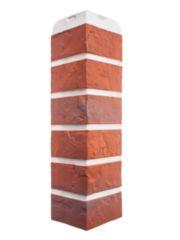 Угол фасадной панели «Альта-Профиль», кирпич рижский 02