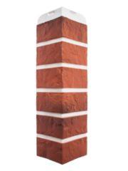 Угол фасадной панели «Альта-Профиль», кирпич рижский 04