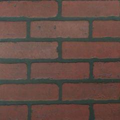 Панель листовая, 3D фотопечать, кирпич красный обожжённый