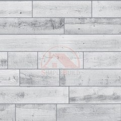 Панель листовая фактурная «Quick Wall», старая доска светлая