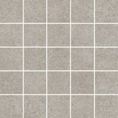 Декор к плитке «Керама Марацци Безана» серый мозаичный, 25×25 (MM12137)