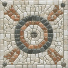 Декор-вставка к напольной плитке «Керама Марацци Стемма», 9.9×9.9 (OS\A88\1146)