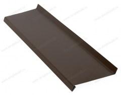 Отлив металлический с покрытием, коричневый