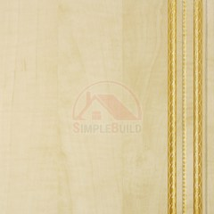 панель МДФ «Декор-Панель», клён золотой