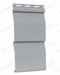 сайдинг виниловый «Ю-Пласт», серый