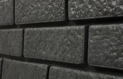сайдинг виниловый «Ю-Пласт», коллекция «Стоун Хаус», кирпич графитовый