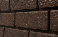 сайдинг виниловый «Ю-Пласт», коллекция «Стоун Хаус», кирпич коричневый
