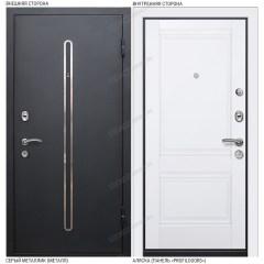 Входная дверь «Легран», модель «Кёльн 2». Серый металлик – Аляска